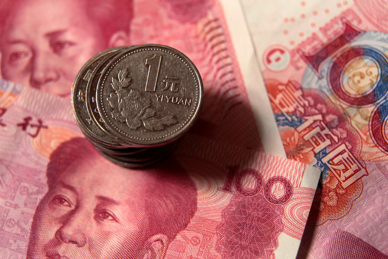 China Lets Traders Push Yuan Toward Best Quarter on Record