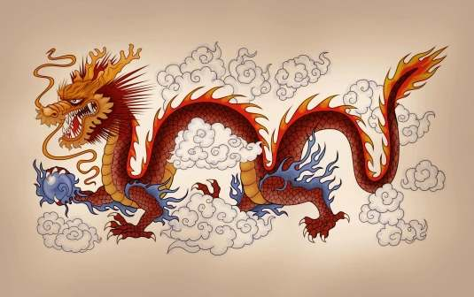the western and chinese dragon Chinese legends usually describe the dragon or long as being a mix of different creatures such as the snake, the horse and the deer, leading to speculation that the myth was originally created by combining the totem animals of early chinese clans.