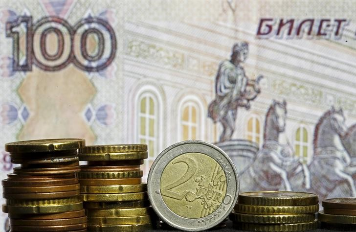 © Reuters.  Russia Hits Brakes on Rate Cuts, Sees Further Easing Possible